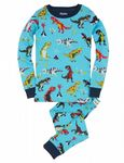 Hatley Roaring Trex PJ Set PJATREX310 Available Sizes 2/3/4/5/6/7 Years  Spring/Summer